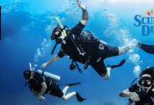 PADI discover scuba diving (DSD) try dive sri lanka