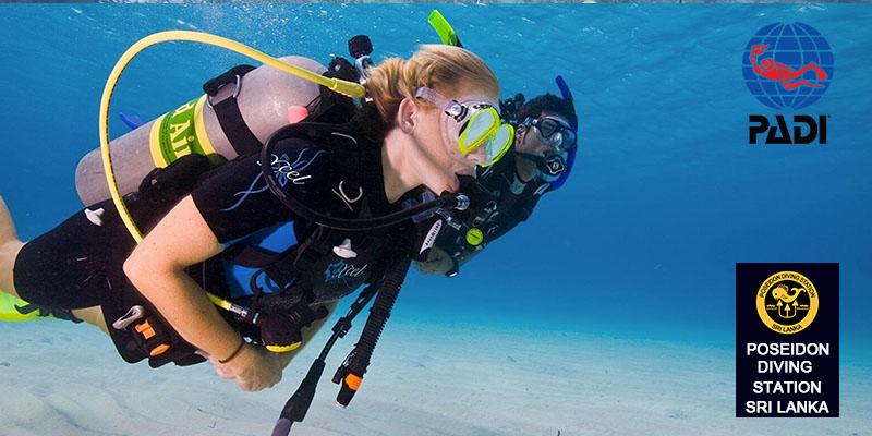 padi Enriched Air Diver course hikkaduwa nilaveli poseidon diving sri lanka