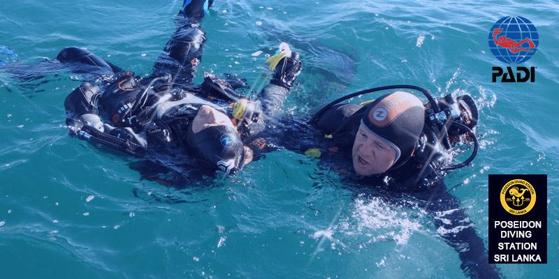 Rescue Diver padi sri lanka
